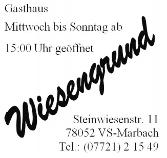 Gasthof Wiesengrund