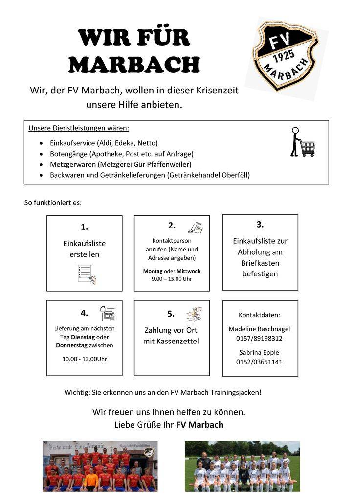 thumbnail of Flyer Wir für Marbach FVM